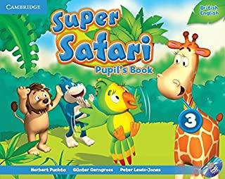 Super Safari 3 Pupils Book With Dvd-Rom