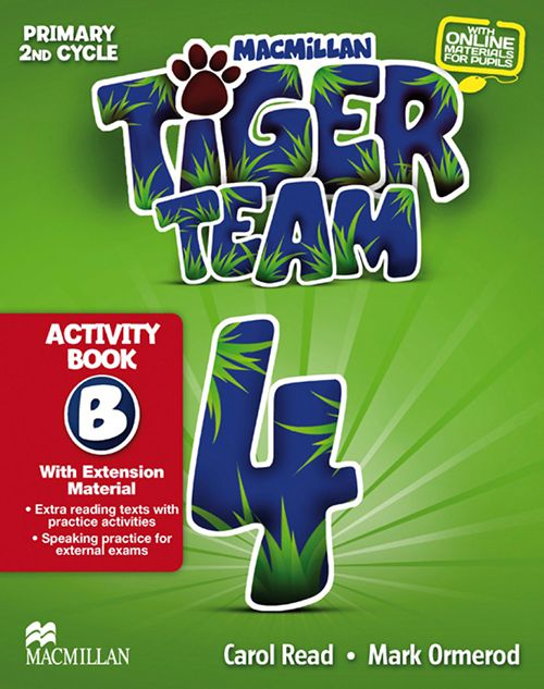 TIGER TEAM 4B ACTIVITY BOOK WITH PROGRESS JOURNA01