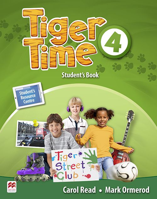 TIGER TIME 4 SB WITH RESOURCE
