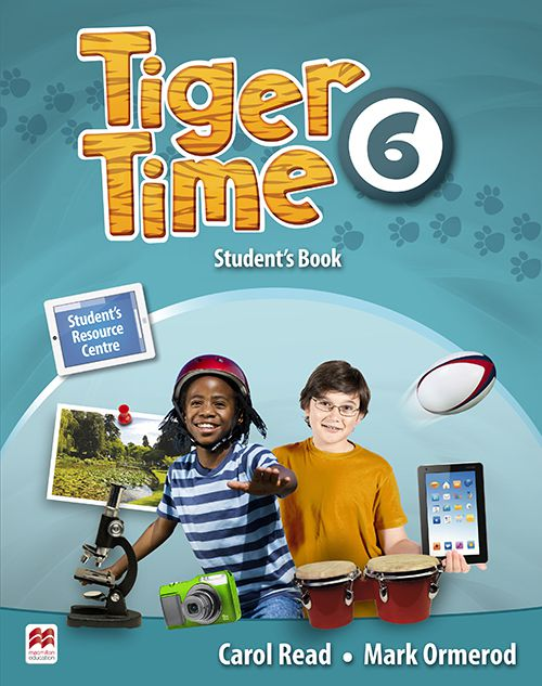 TIGER TIME 6 SB WITH RESOURCE