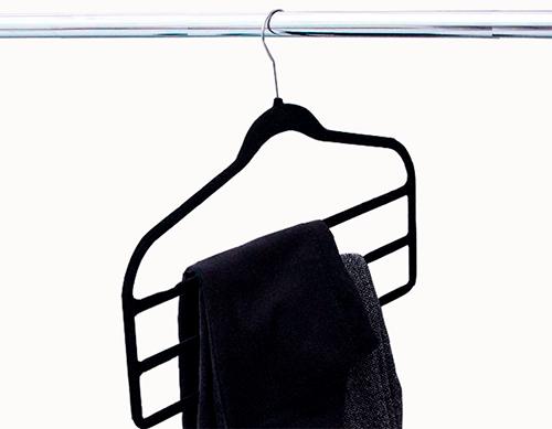 Cabide de veludo Fixel Slim para calça