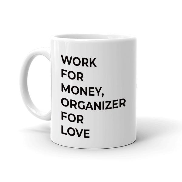 Caneca - Café e organização