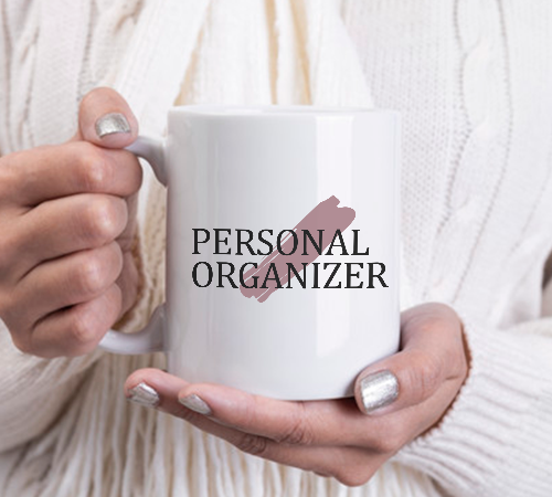 Caneca Personal Organizer