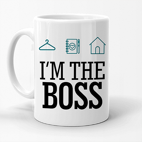 Caneca Personal Organizer - I'm the boss