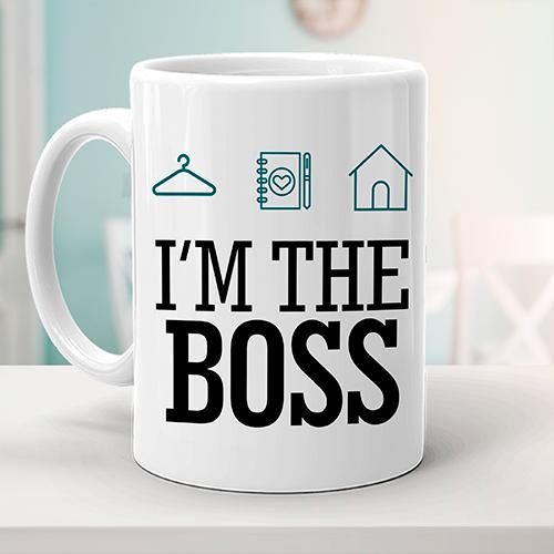 Caneca Personal Organizer - I'm the boss