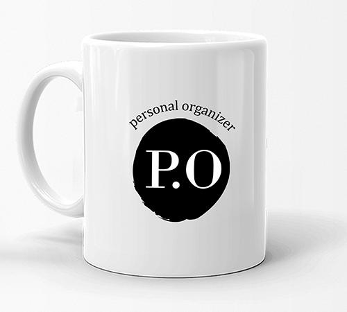 Caneca Personal Organizer - P.O