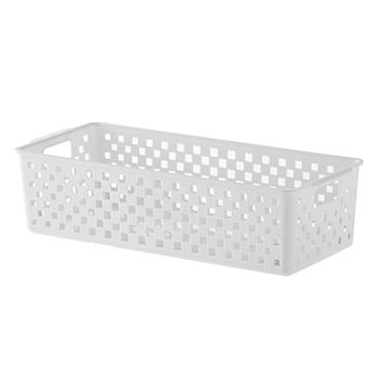 Cesto Organizador Quadratta Branco - 24x15x9 cm - 890