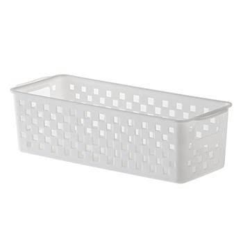 Cesto Organizador Quadratta Branco - 27x11x8 cm - 892