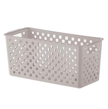 Cesto Organizador Quadratta Branco - 27x12x12 cm - 893