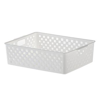 Cesto Organizador Quadratta Branco - 27x21x9 cm - 891