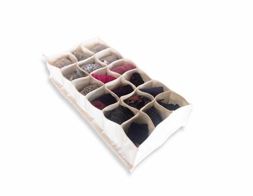 Colmeia Organizadora de algodão Orgânico - 18 nichos