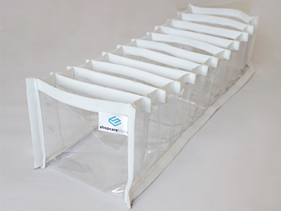Colmeia Organizadora Fixel Branca - Tamanho P - 13x38x10cm