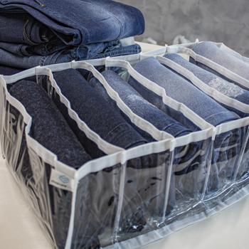 COLMEIA PLUS -  CRISTAL  BRANCA - TAMANHO G - Calças jeans