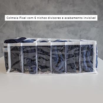 COLMEIA  PLUS - CRISTAL BRANCA - TAMANHO M - calça jeans, legging, bermudas, etc.