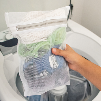 Conjunto com 3 sacos para máquina de lavar - P, M e G