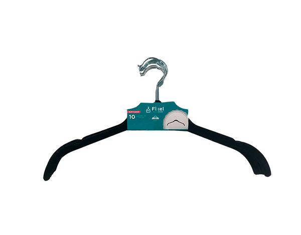 Cabide de Veludo para Camiseta - Kit 10 unidades