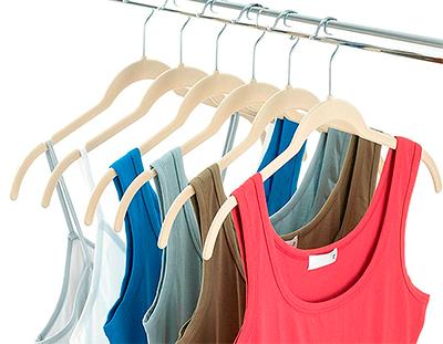 Cabide de Veludo para Camiseta - Kit 20 unidades