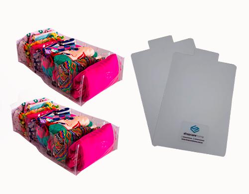 Colmeia Cristal Transparente G Kit 2 unidades + 2 Gabaritos para Dobras G