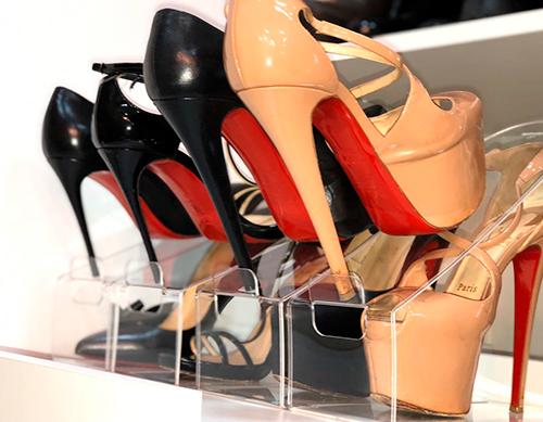 Organizador de Sapatos Acrílico Adulto - Kit 2 unidades