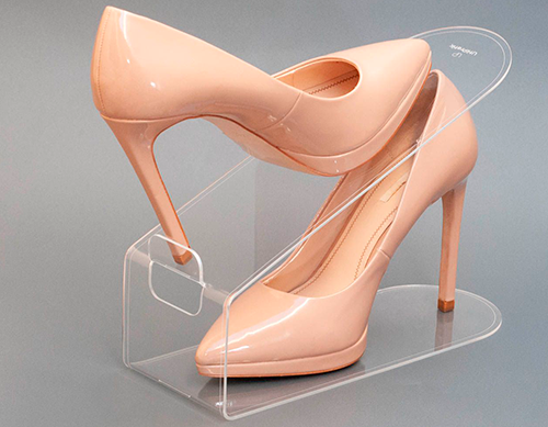 Kit 4 unidades - Organizador de sapatos Cristal Acrílico Adulto