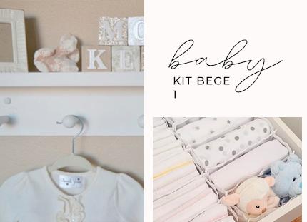 KIT BABY - Bege 1 + BRINDE