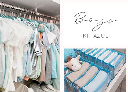 Kit Baby/Kids - Azul 1 + BRINDE