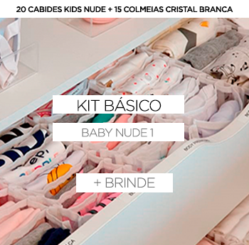 Kit baby/Kids Nude 1 + BRINDE