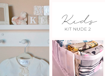 Kit Baby/Kids - Nude 2 + BRINDE