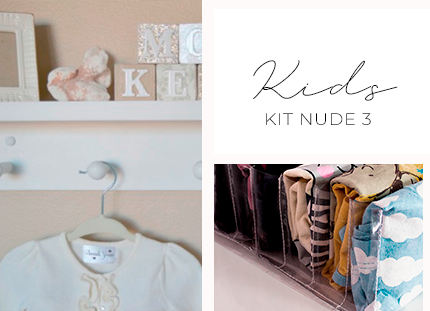 Kit Baby/Kids - Nude 3 + BRINDE
