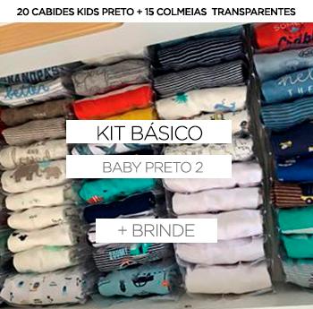 Kit Baby/Kids - Preto 2 + BRINDE