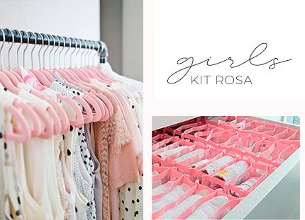 Kit Baby/Kids - Rosa 1 + BRINDE