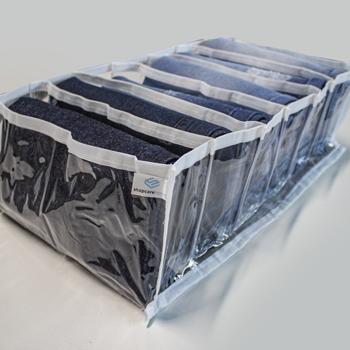 Kit com 3 colmeias PLUS  - Tamanho G 30x40x15 cm - Cristal Branca