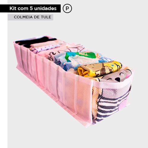 Kit com 5 colmeias de tule - Tamanho P