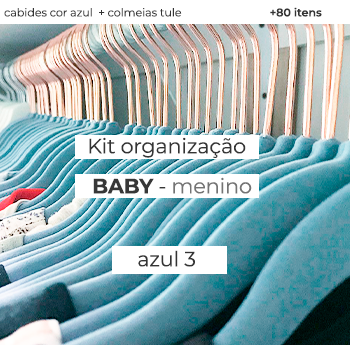 Kit Organização Baby - Mod. Azul 3