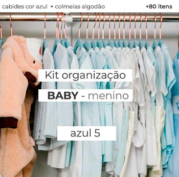 Kit Organização Baby  - Mod. Azul 5