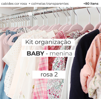 Kit Organização Baby - Mod. Rosa 2