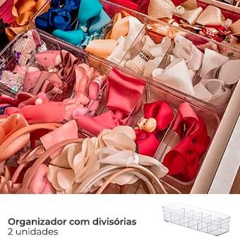 Kit Organização Baby - Mod. Rosa 3
