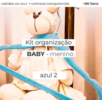 Kit Organização Baby - Mod. Azul 2