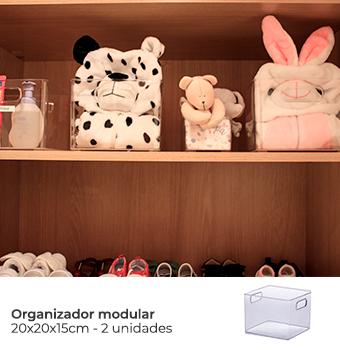 Kit Organização Baby Unisex - Mod. Preto 4