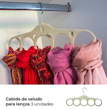 Kit Organização Closet Feminino - Nude 3