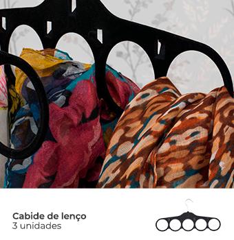 Kit Organização Closet Feminino - Preto 1