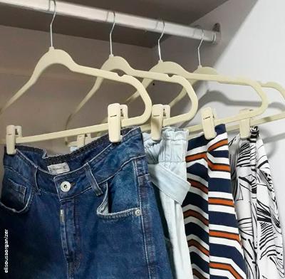 Kit Organização Closet Teen - Nude 1