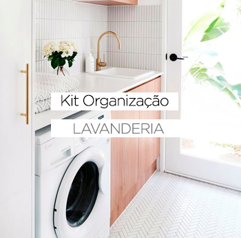 Kit Organização da Lavanderia