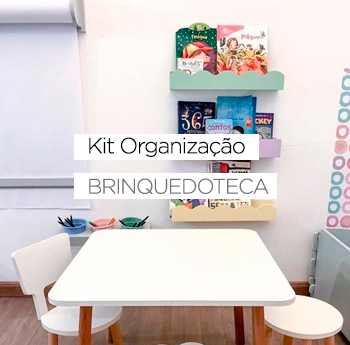 Kit Organização para Brinquedoteca