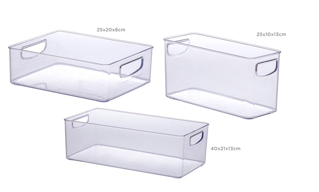 Kit Organizadores Modulares - 3 peças