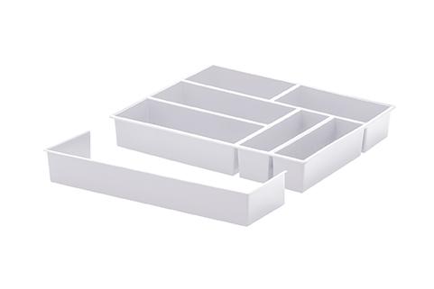 Organizador de talheres c/ extensor - 40 x 33 x 6,5 CM - 1360