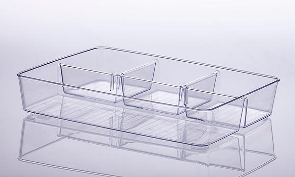Organizador Diamond c/ divisórias - 34x24x6cm