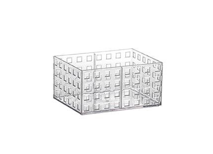 Organizador empilhável Quadratta 16x11,5x8cm - 841
