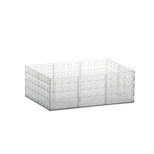 Organizador empilhável Quadratta 23x16x8cm
