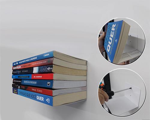 Porta Livros - Branco
